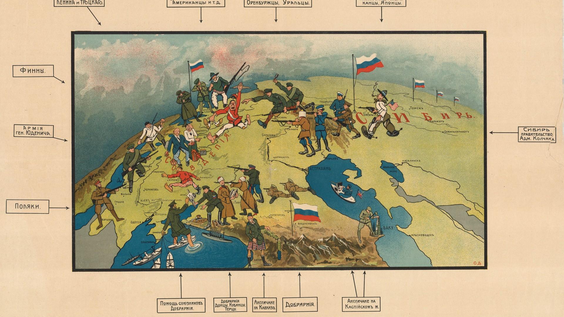 Humoristische Karte Von Europa 1914.Humoristische Karte Von Europa Im Jahre 1914