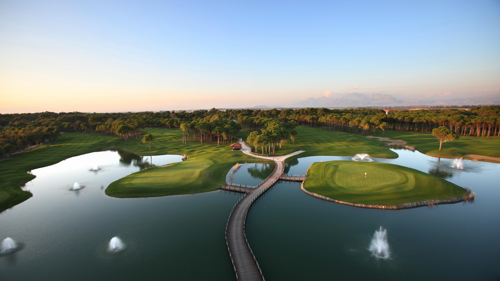 how to play top golf courses