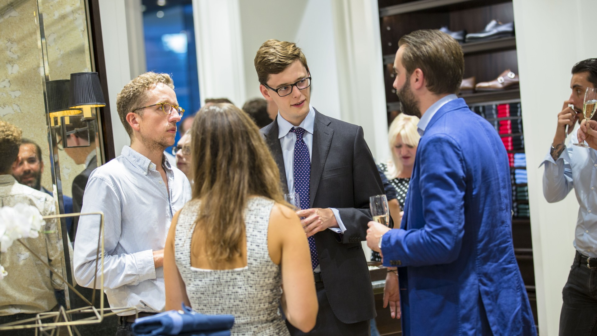 Hackett x Square Mile event