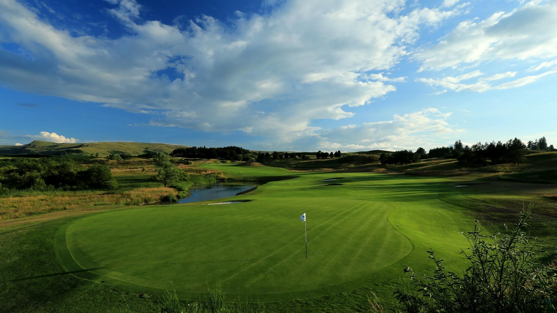 Gleneagles, PGA Centenary course, Perthshire, Scotland