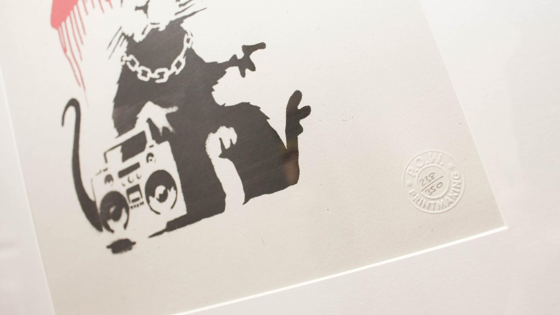 Seven tips for investing in Banksy artwork