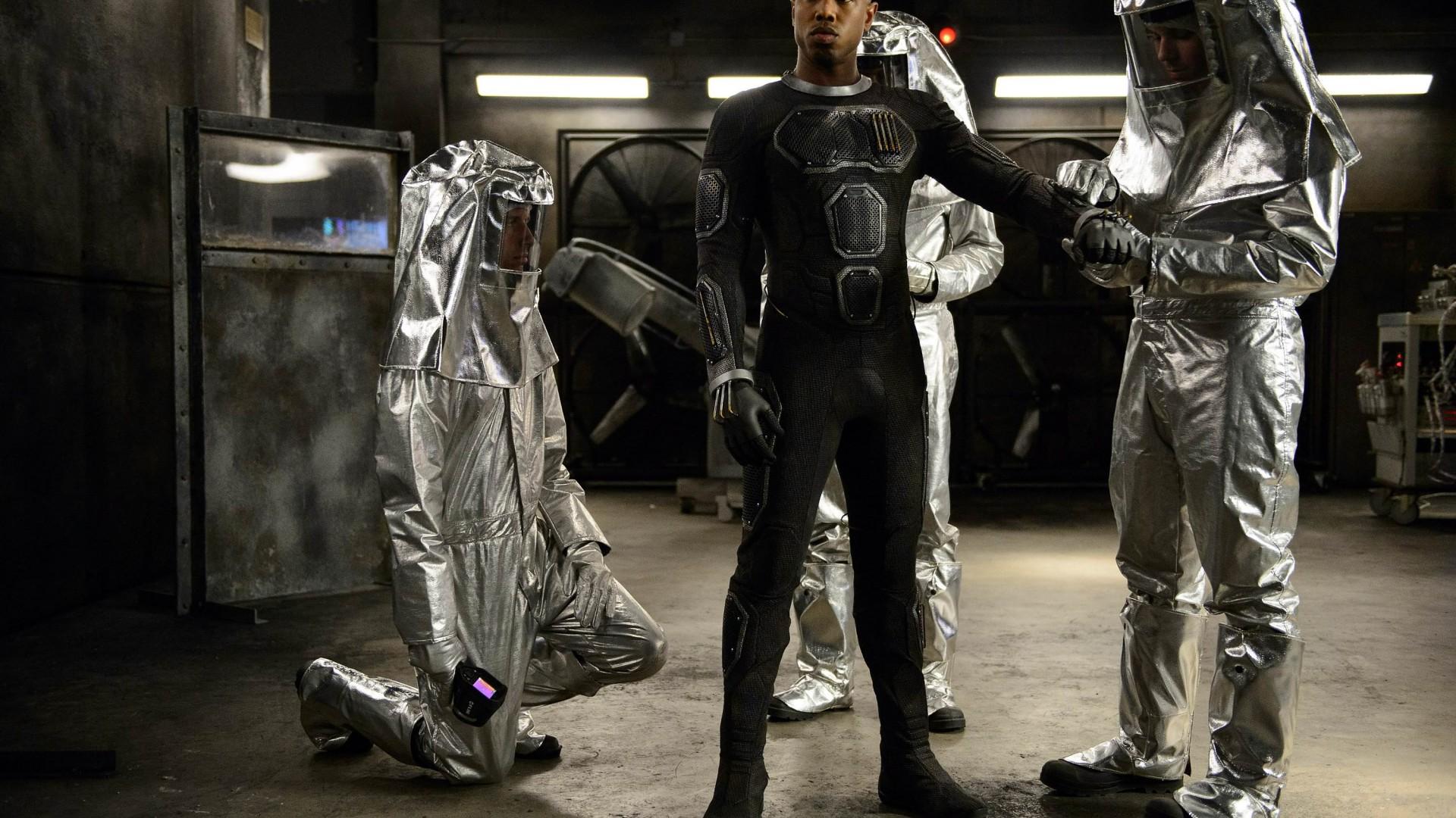 Michael B Jordan, Johnny Storm, Fantastic Four