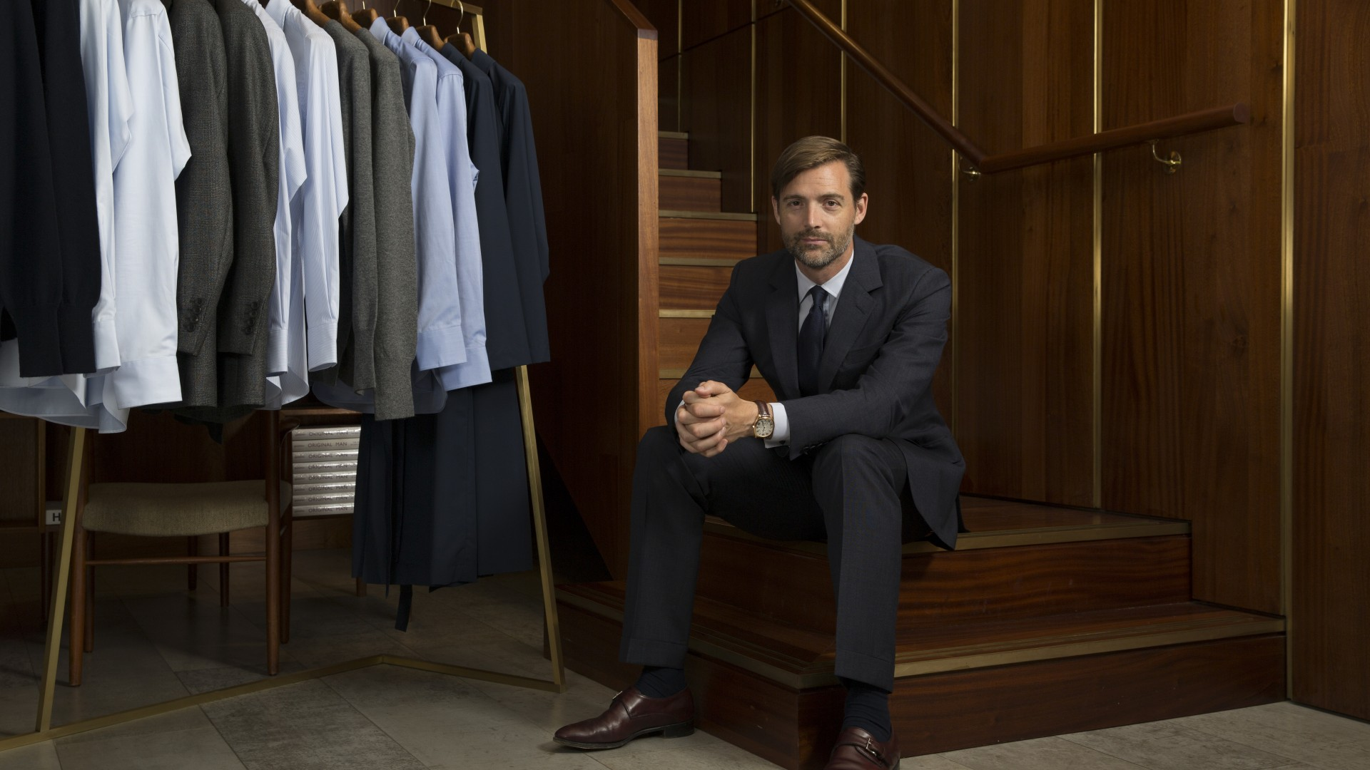 Patrick Grant on Savile Row's future, experimental designs and outdated silhouettes