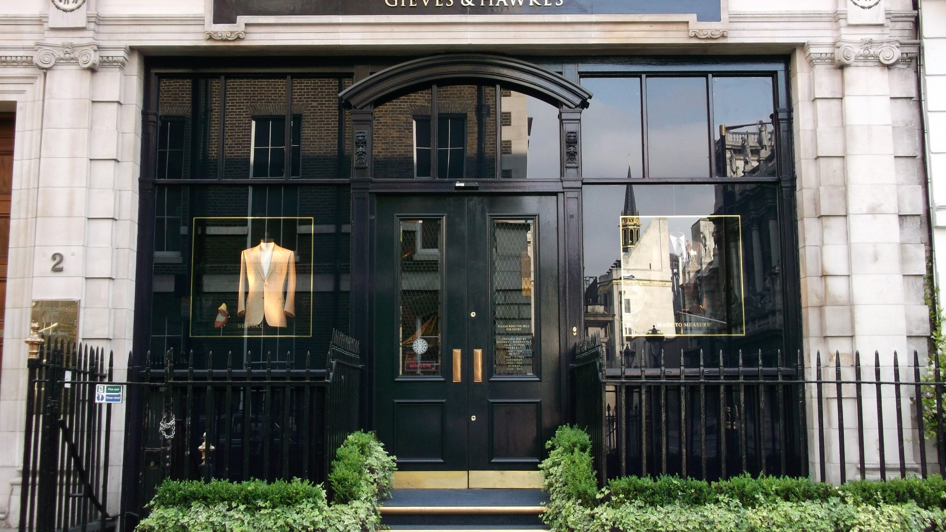 Gieves & Hawkes, 1 Savile Row, W1S 3JR