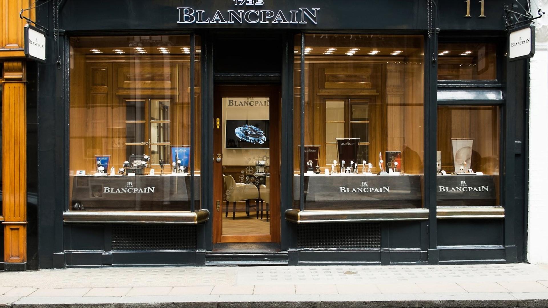 Blancpain, 11 New Bond St. W1S 3SR