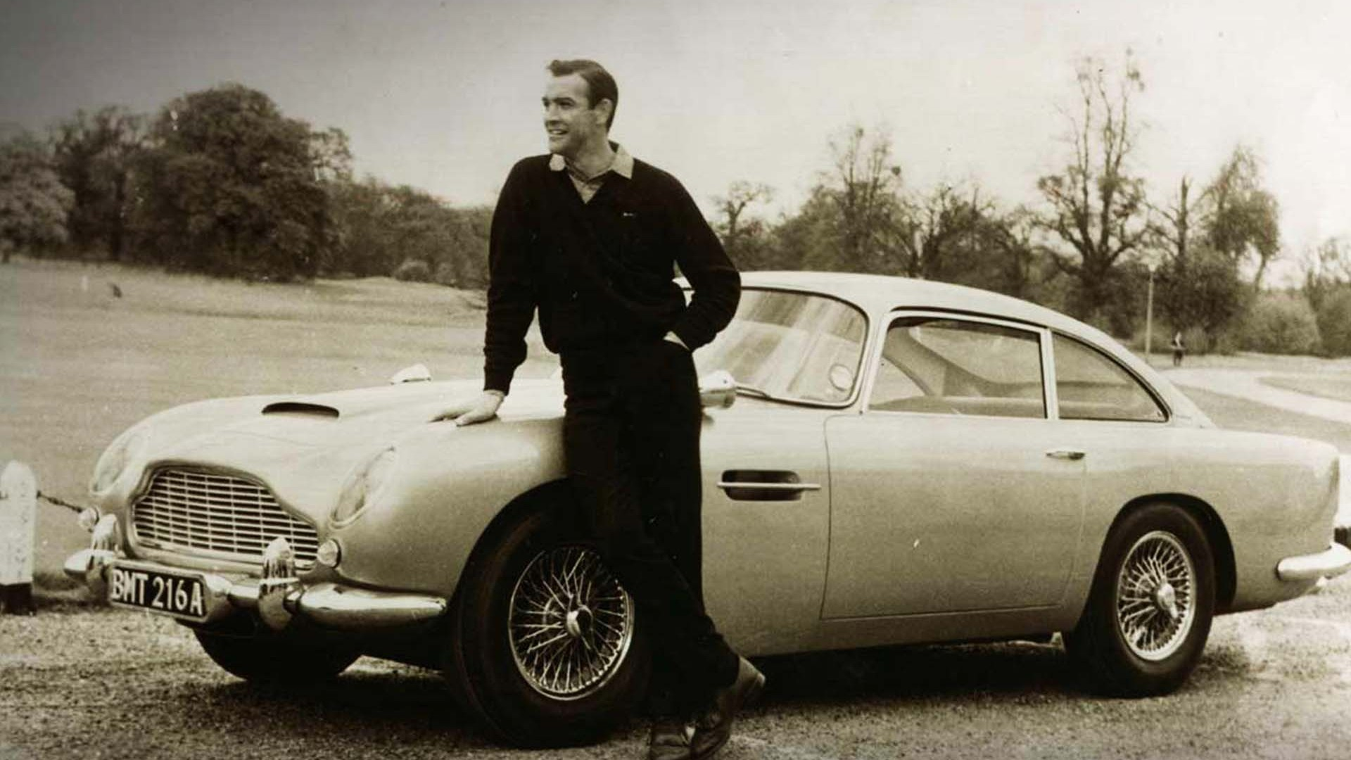 James Bond's 1964 Aston Martin DB5 (Goldfinger, Thunderball)