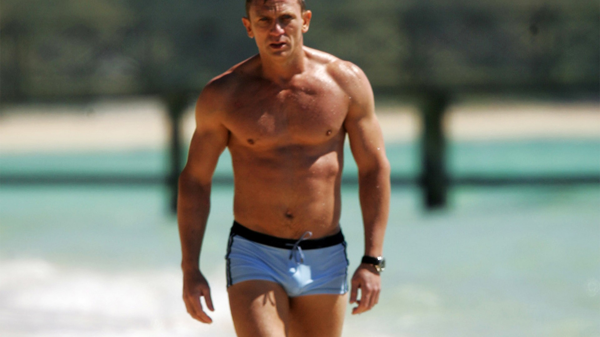 Daniel Craig's trunks (Casino Royale)