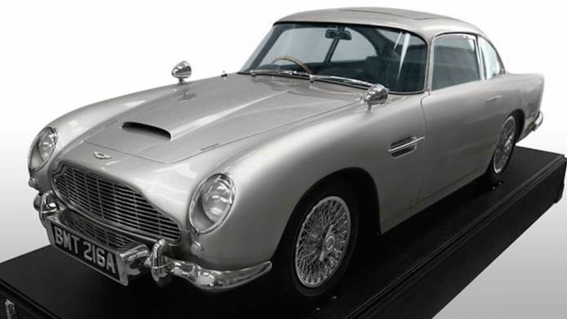 A one-third scale model DB5 (Skyfall)