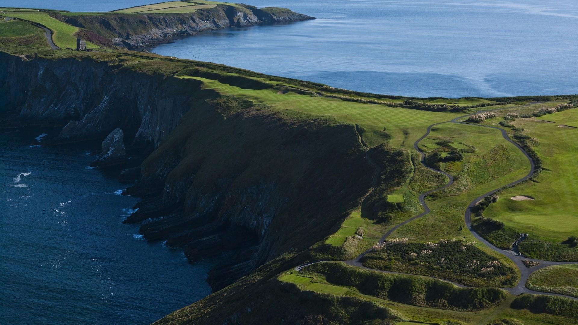 Old Head golf links, Kinsale, County Cork, Ireland