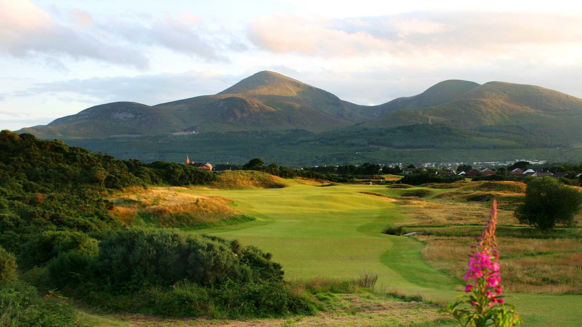 Royal County Down golf club, County Down, Northern Ireland