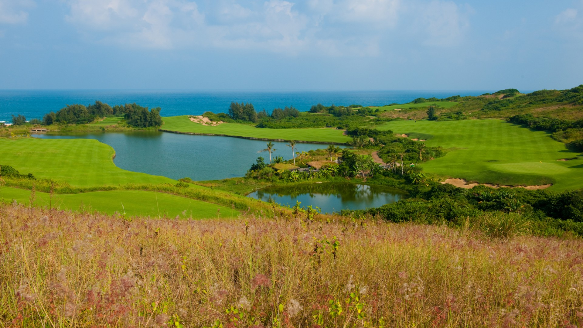 Shanqin Bay golf club, Hainan Island, China