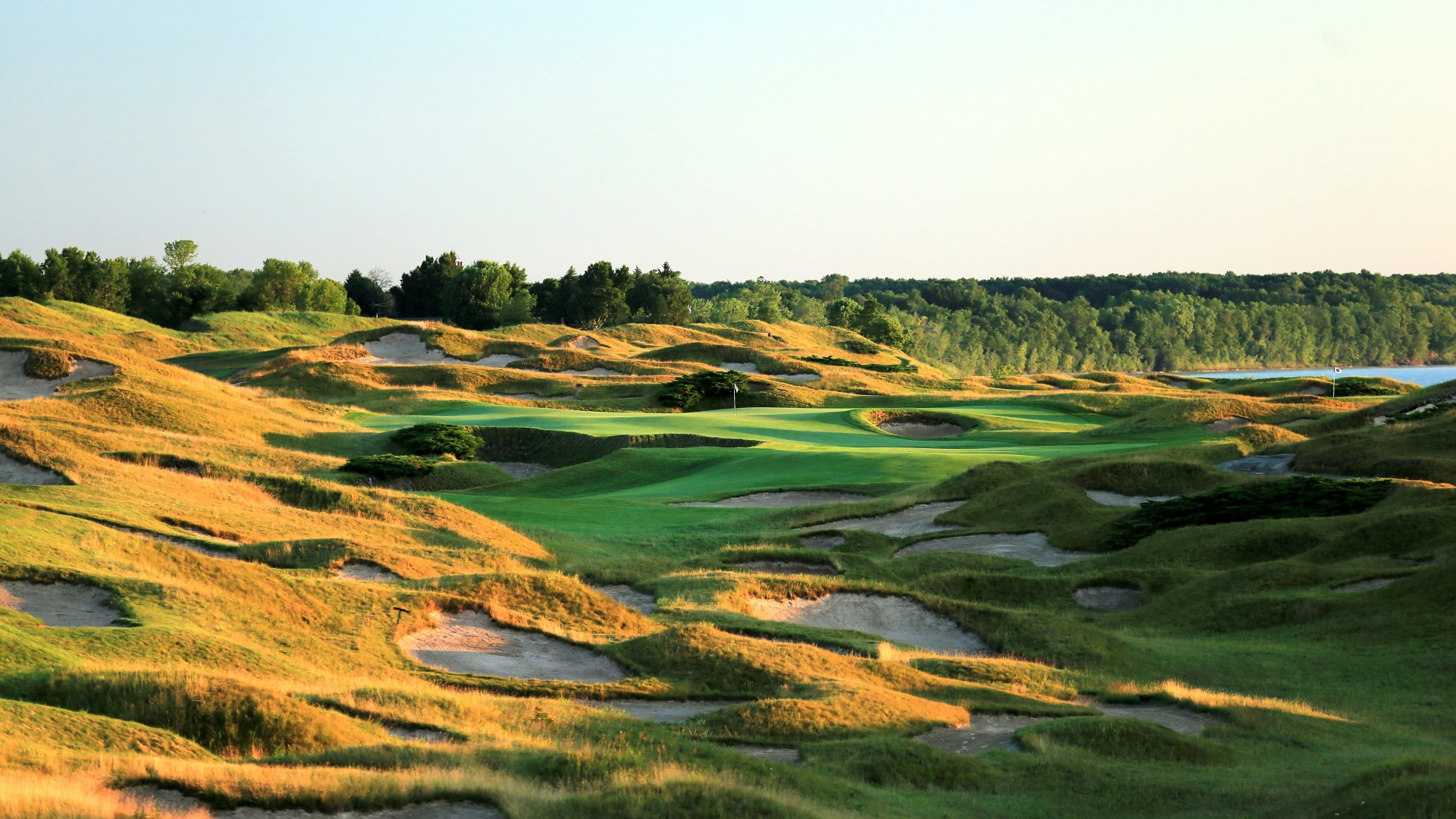 Whistling Straits golf course, Wisconsin, United States of America