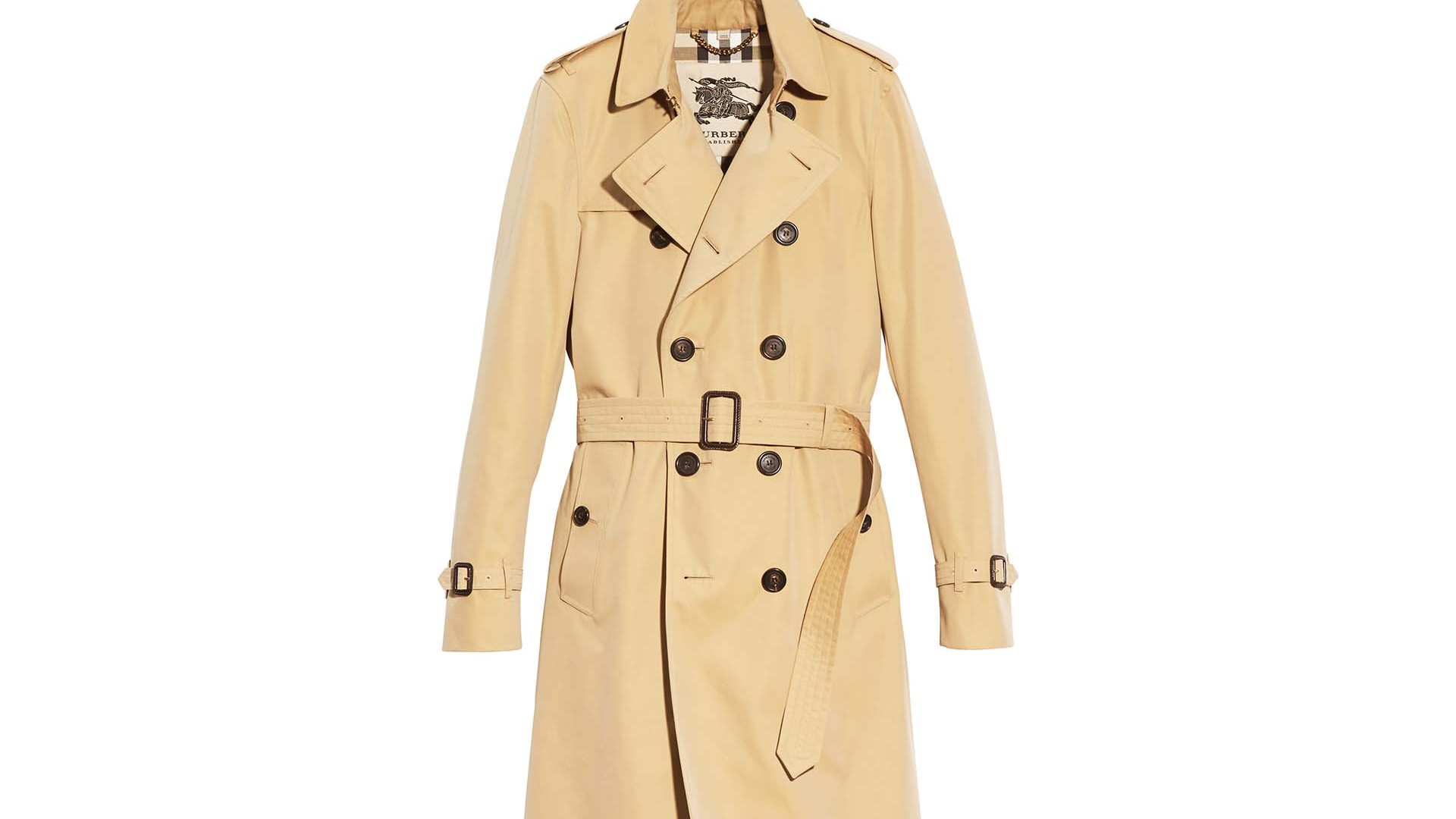 The Trench Coat: Burberry Chelsea mid-length trench