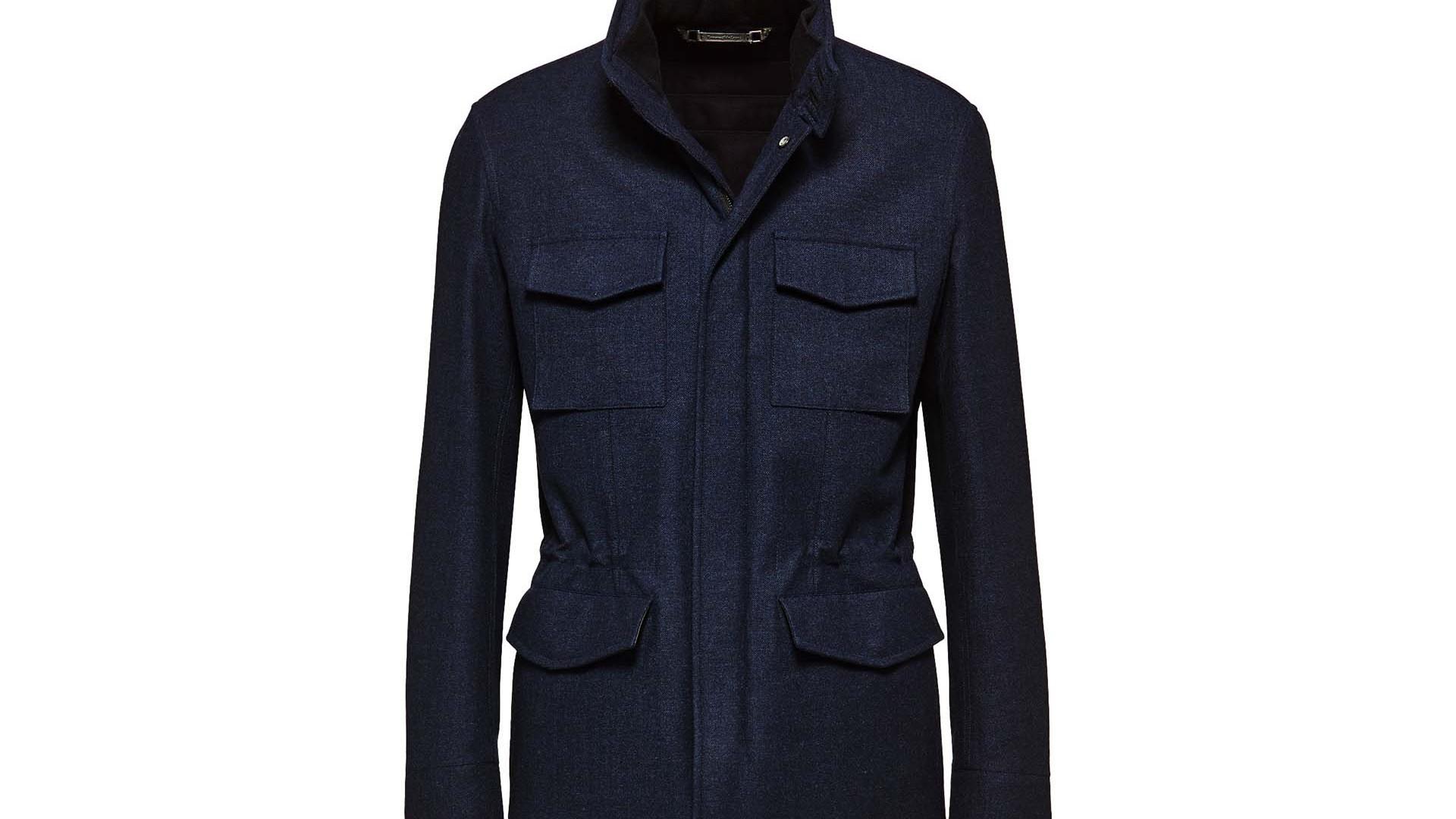 The Field Jacket: Ermenegildo Zegna Field Jacket