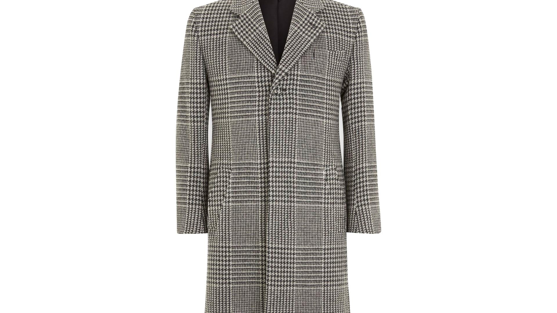 The Overcoat: Turnbull & Asser Hopton Hydrophobic Wool Coat