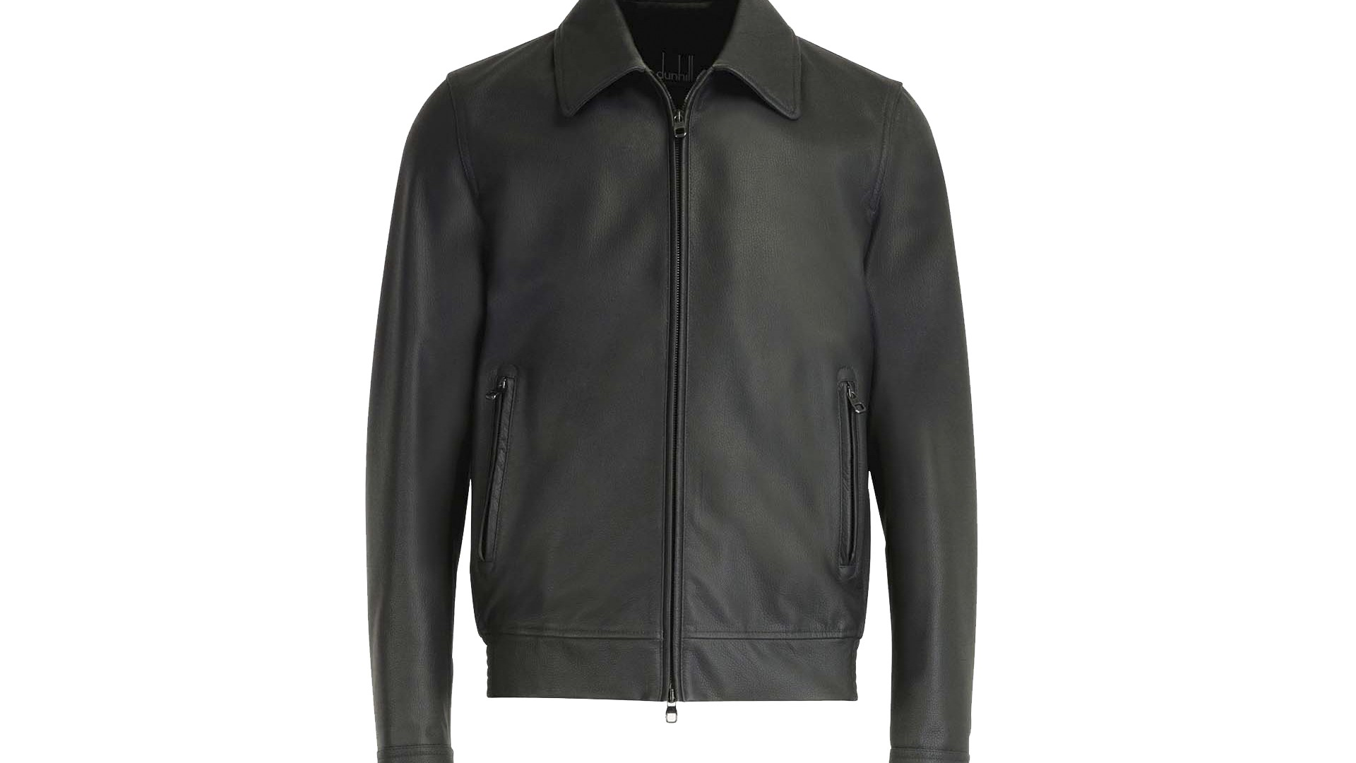 The Leather Jacket: dunhill Lambskin Racing Blouson