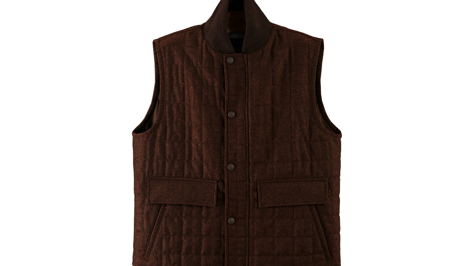 The Gillet: Purdey Quilted Tweed Body Warmer