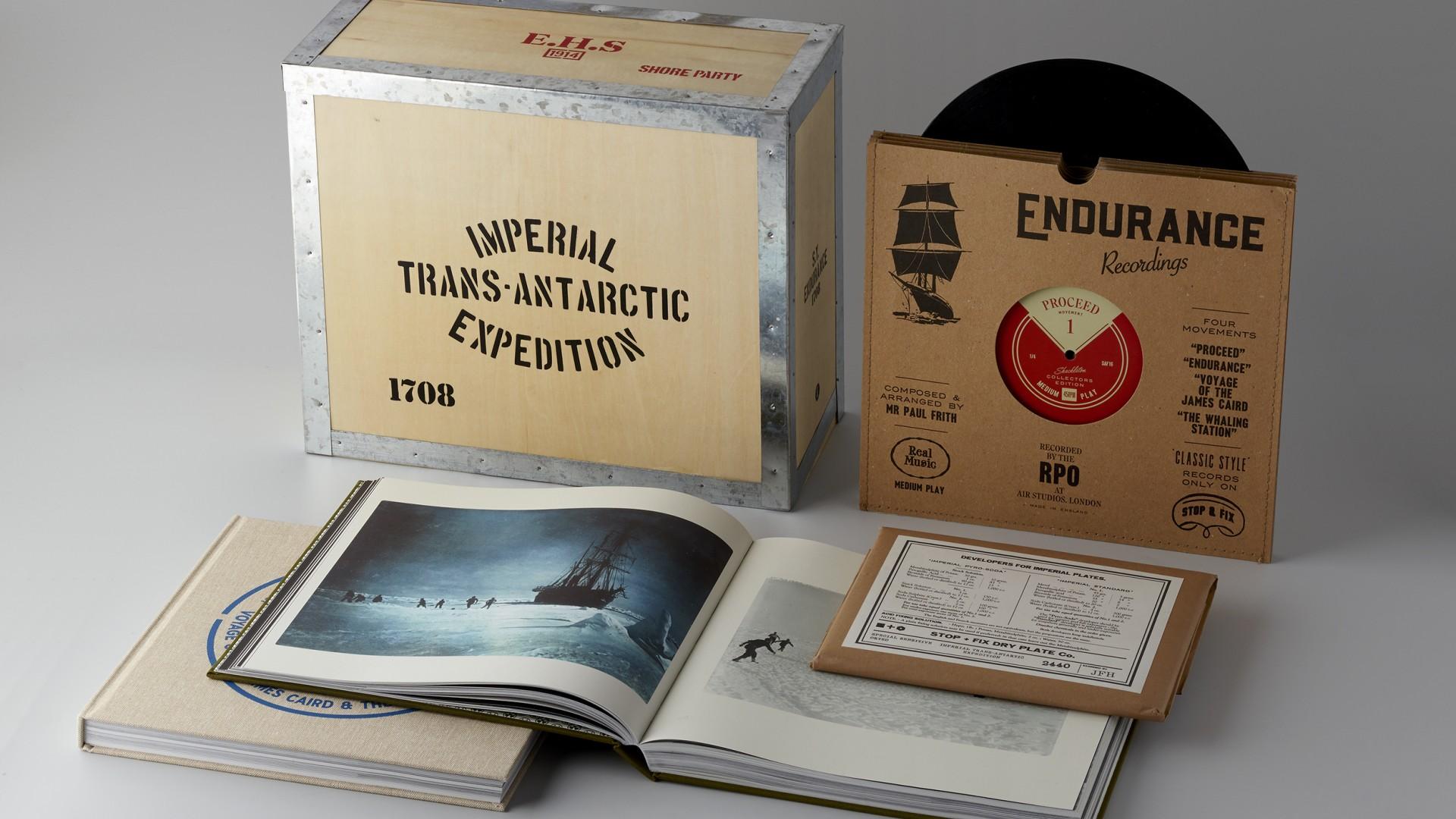 A Unique Celebration Of Sir Ernest Shackleton Square Mile