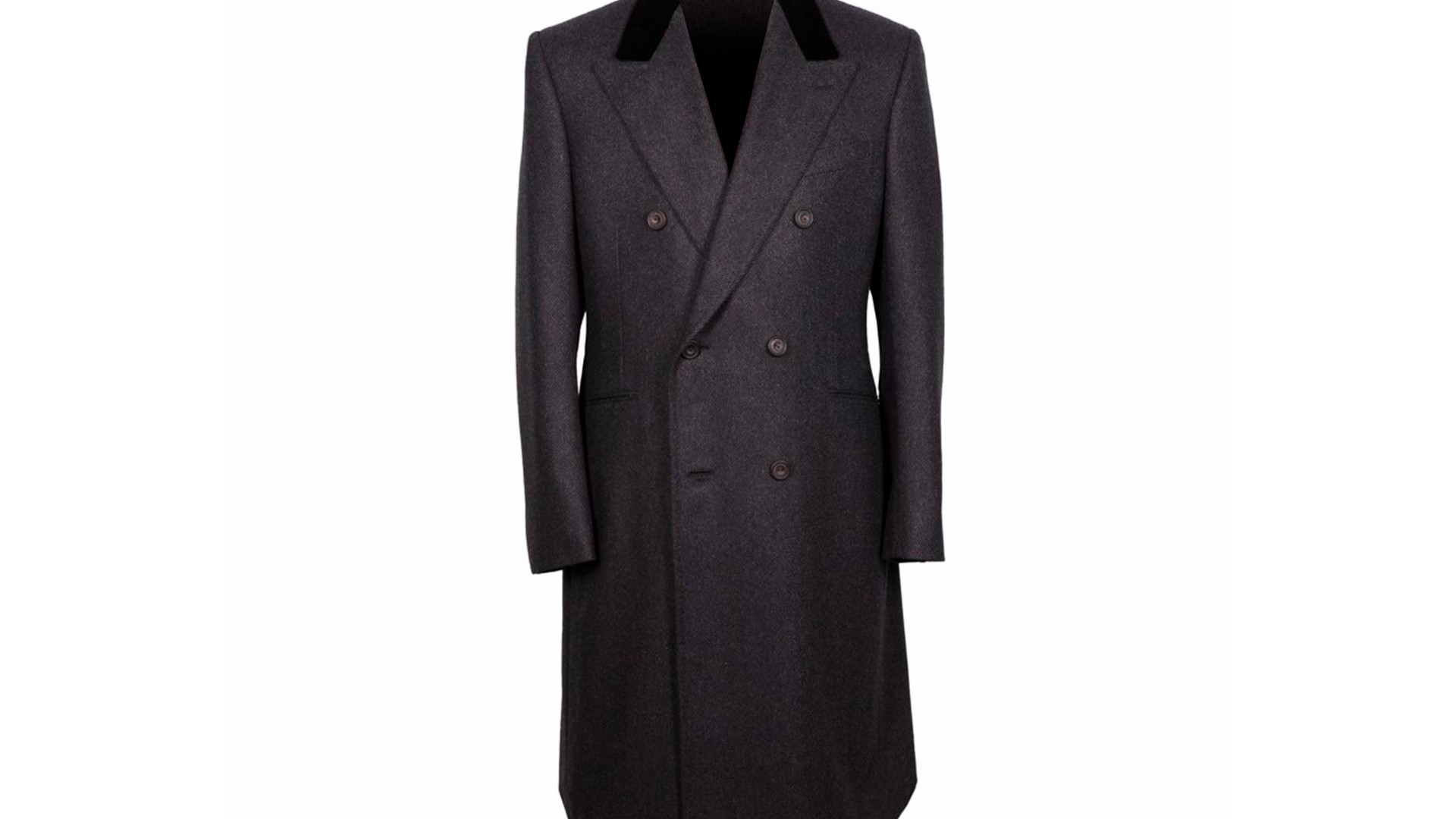 The Double-Breasted Jacket: Huntsman King Coat
