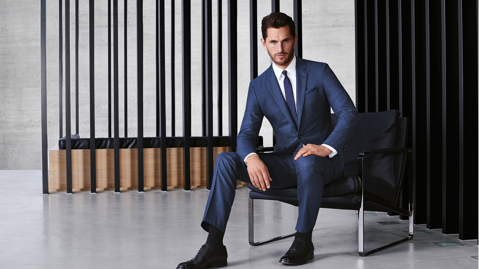 Full Canvas Suit from Hugo Boss