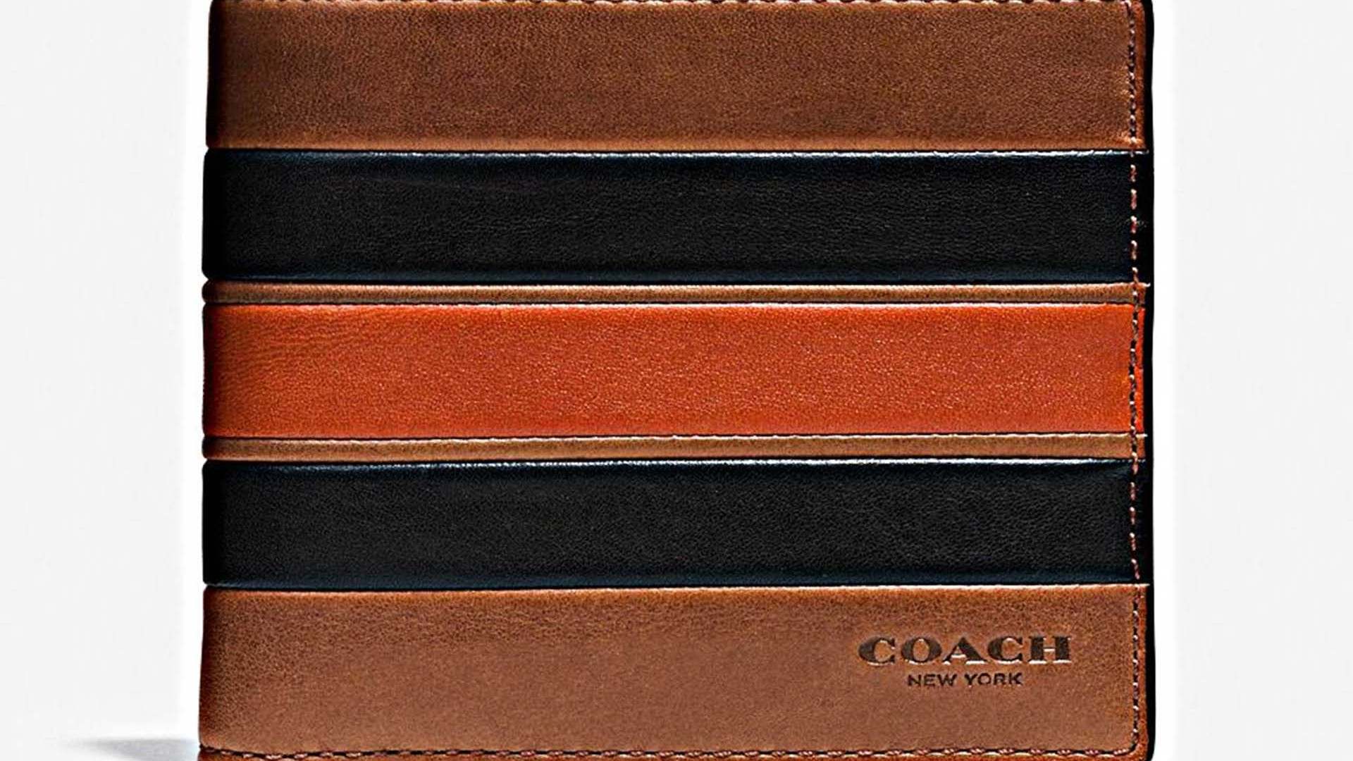 Modern Varsity wallet from Coach