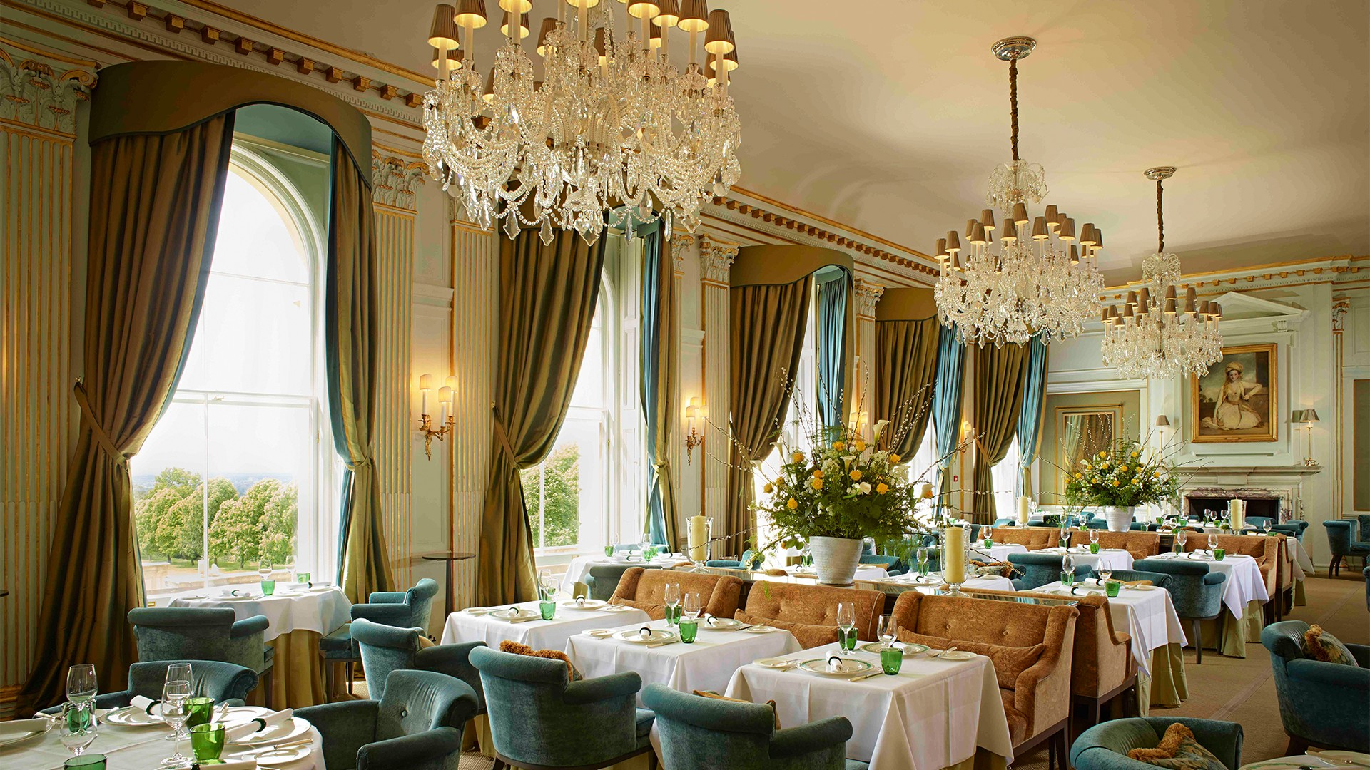 Best Valentine's Day restaurant Cliveden House