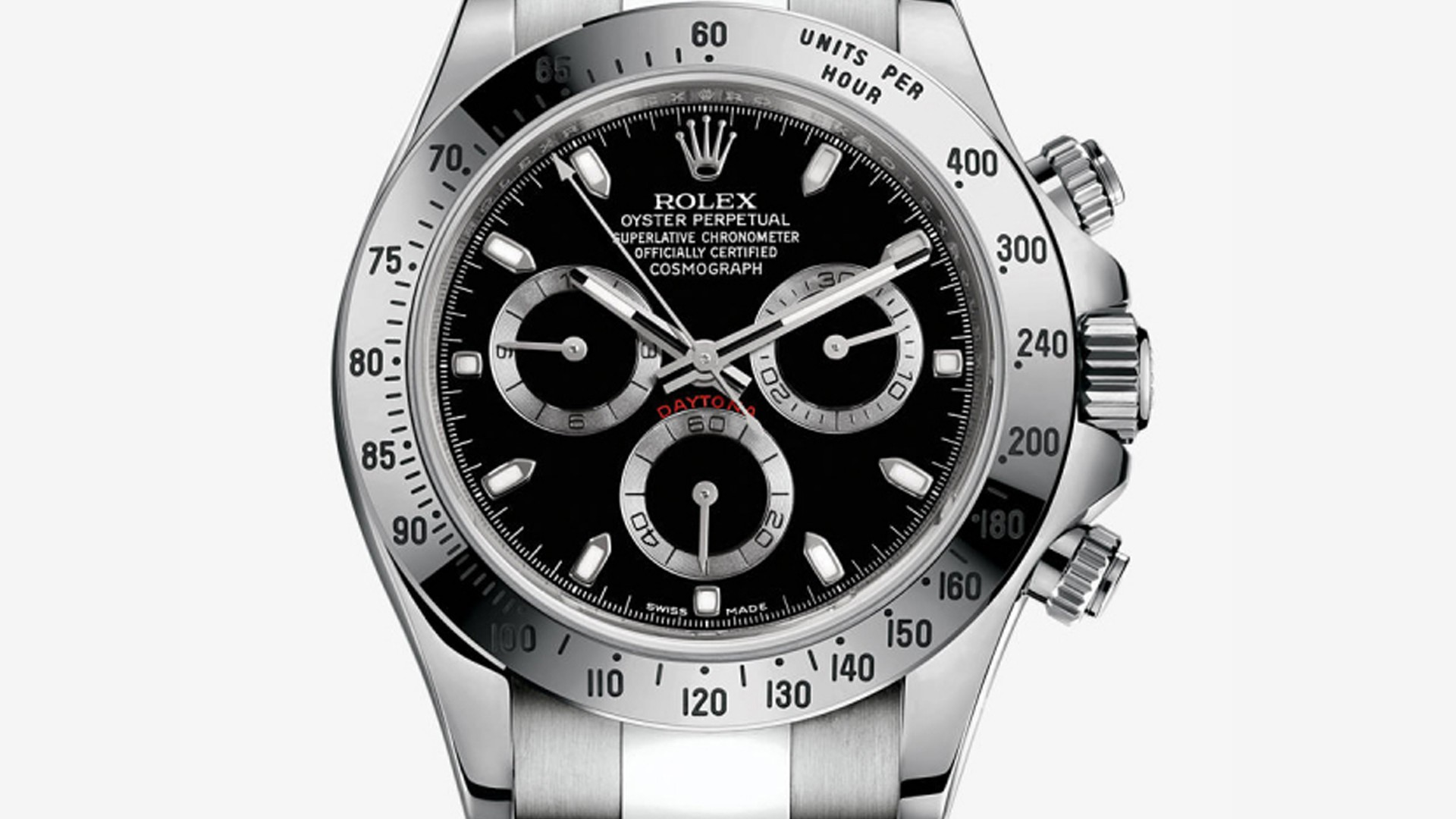 Rolex Cosmograph Daytona 116520 in stainless steel
