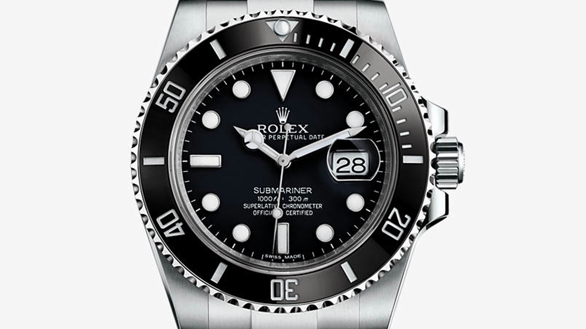 Rolex Oyster Perpetual Submariner Date 116610LN in stainless steel