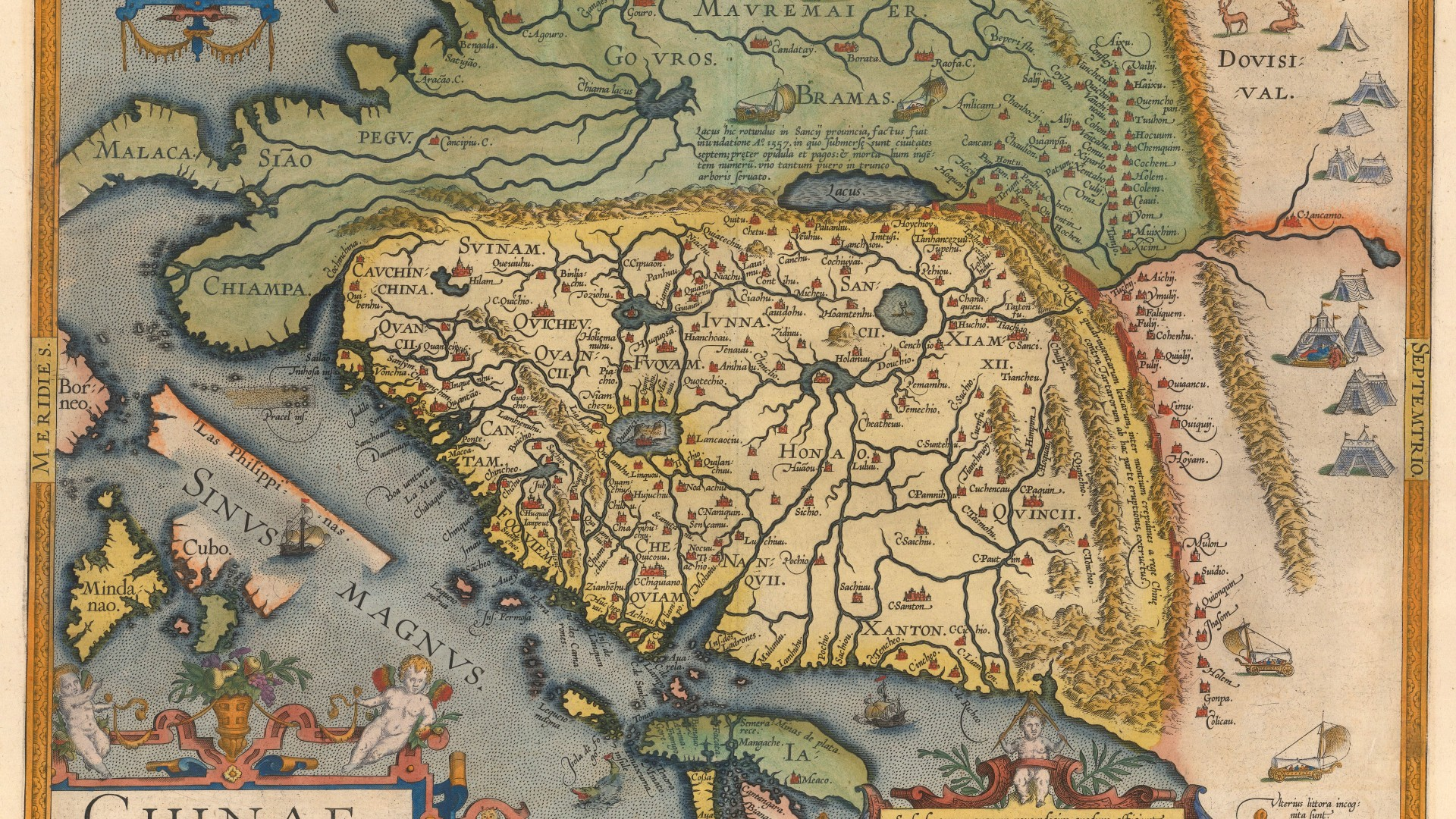 Abraham Ortelius: China