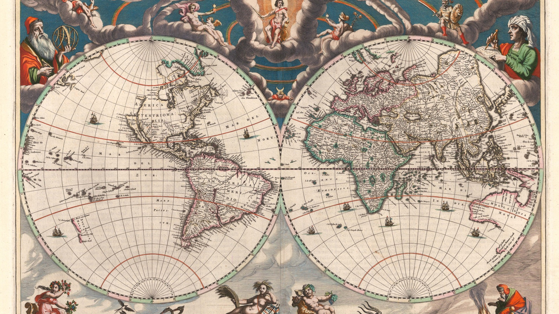 Jan Blaeu: [World Map]