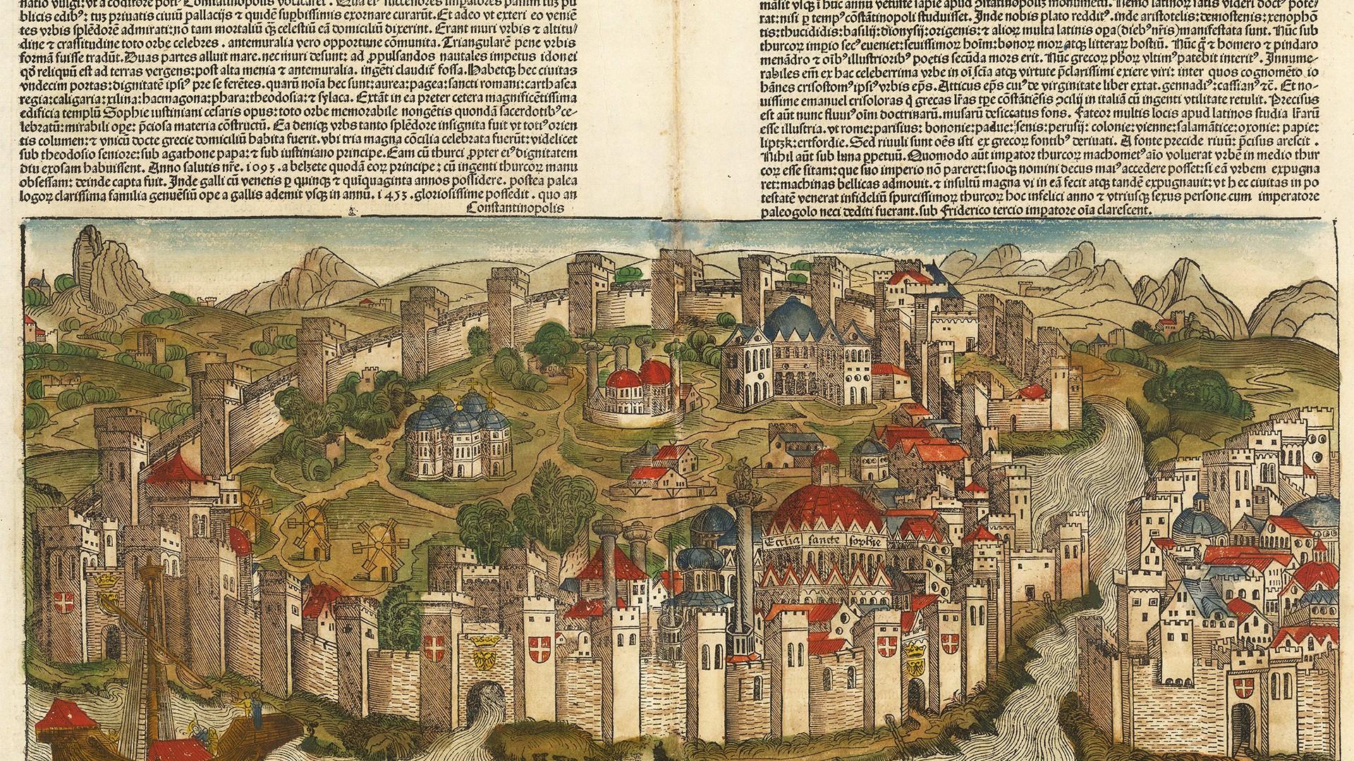 Hartman Schedel: Constantinople