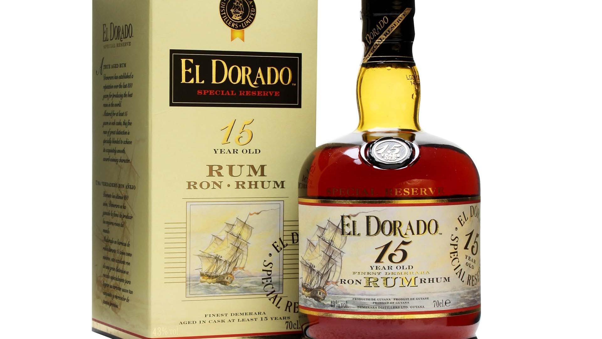 El Dorado Rum 15 Year Old Special Reserve, Guyana