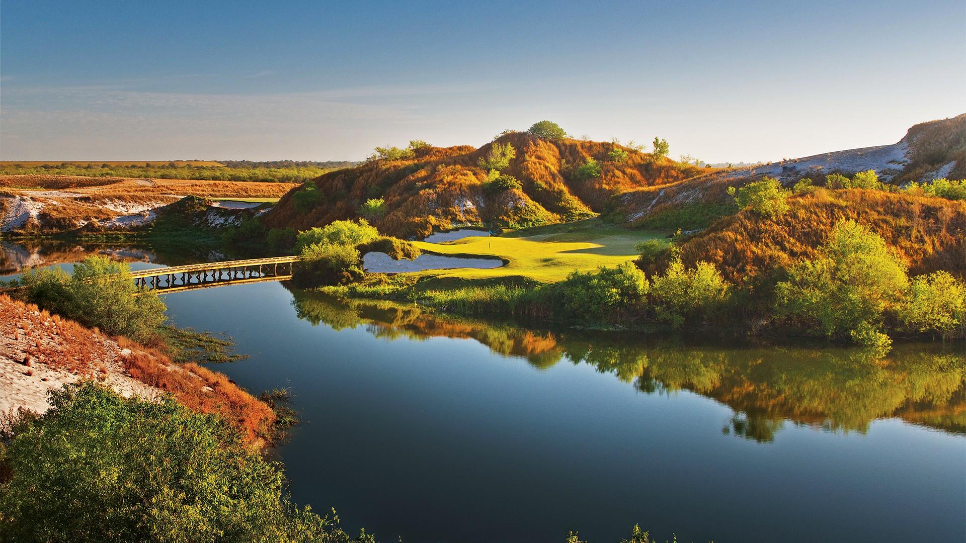 Streamsong Resort, Blue Course, Tom Doak, Hole 7