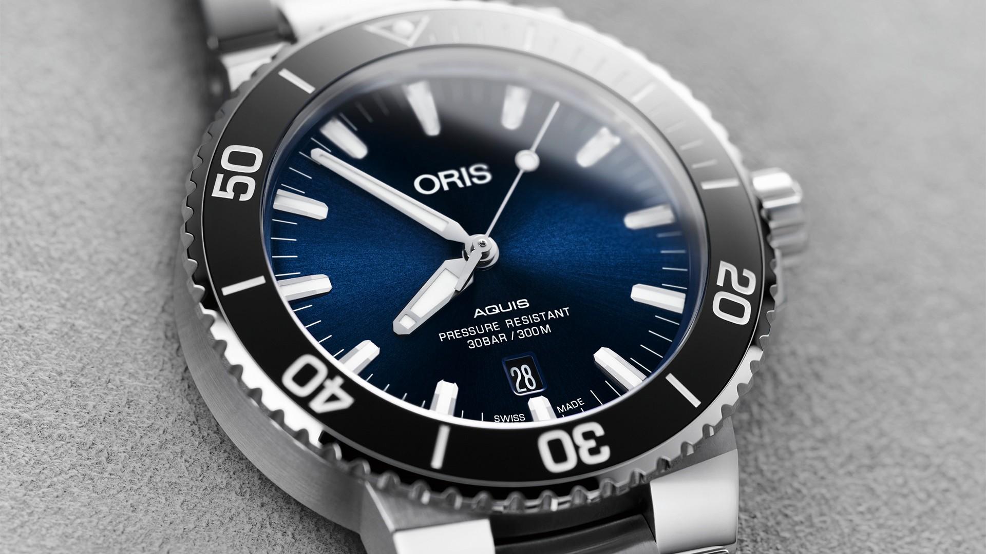 Oris Aquis dive watch