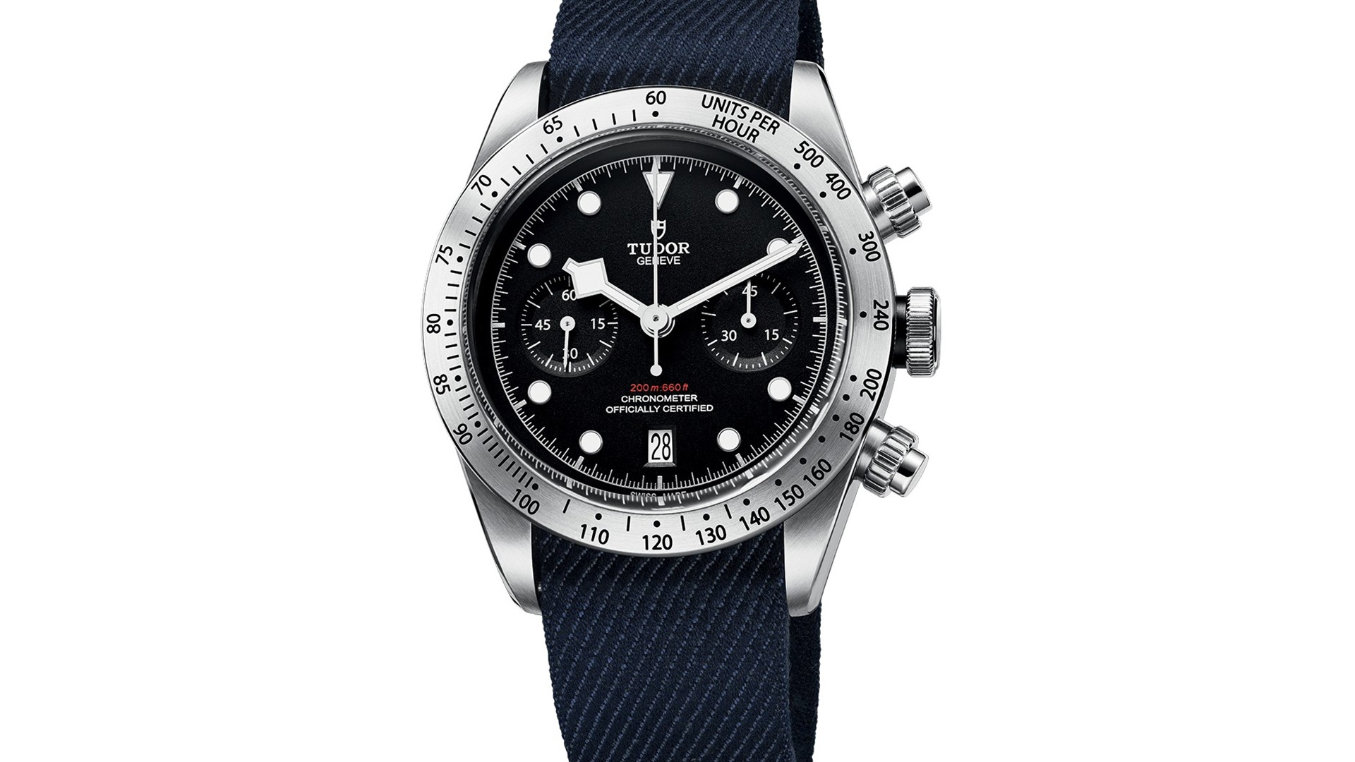 Tudor Black Bay Chronograph watch