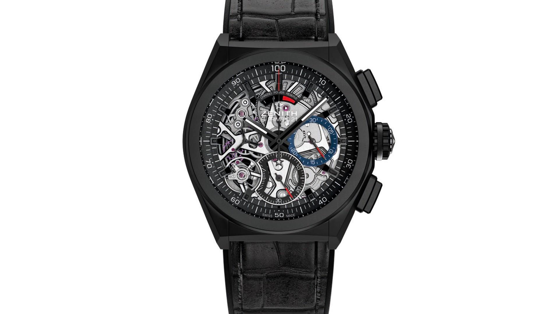 Zenith El Primero Defy 21 chronograph watch