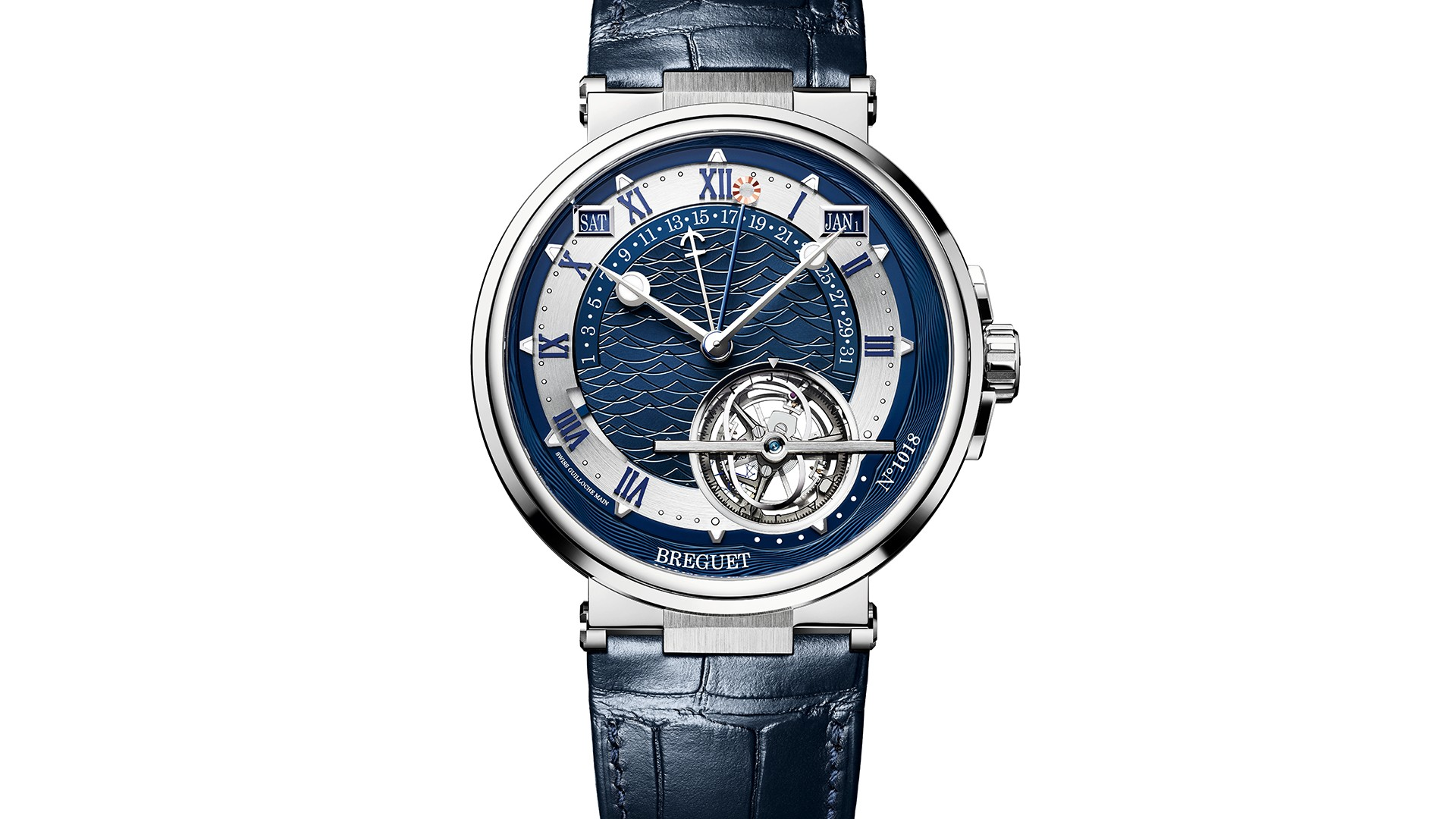 Breguet Marine Équation Marcante 5887 watch