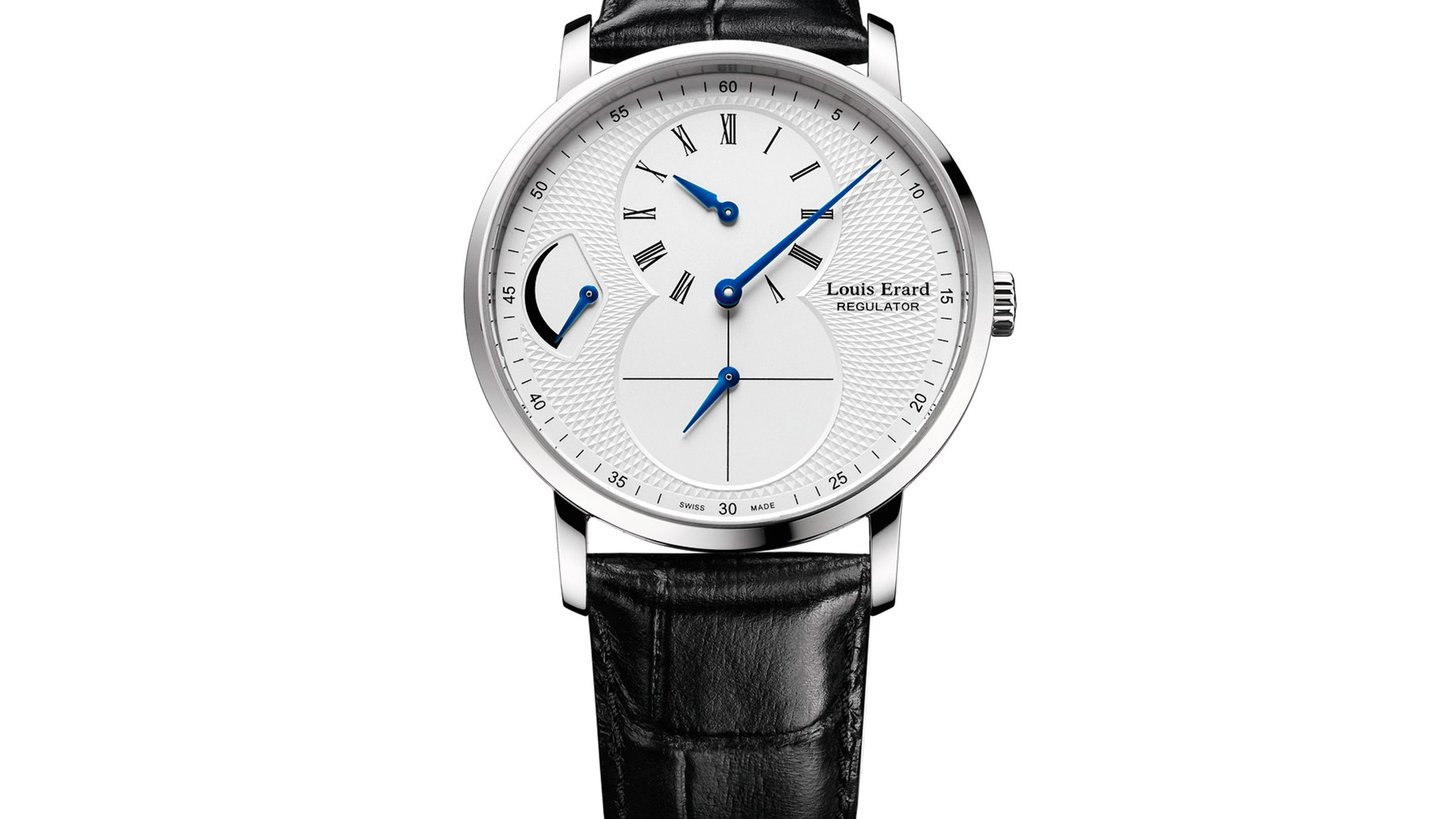 Louis Erard Excellence Guilloché Regulator watch