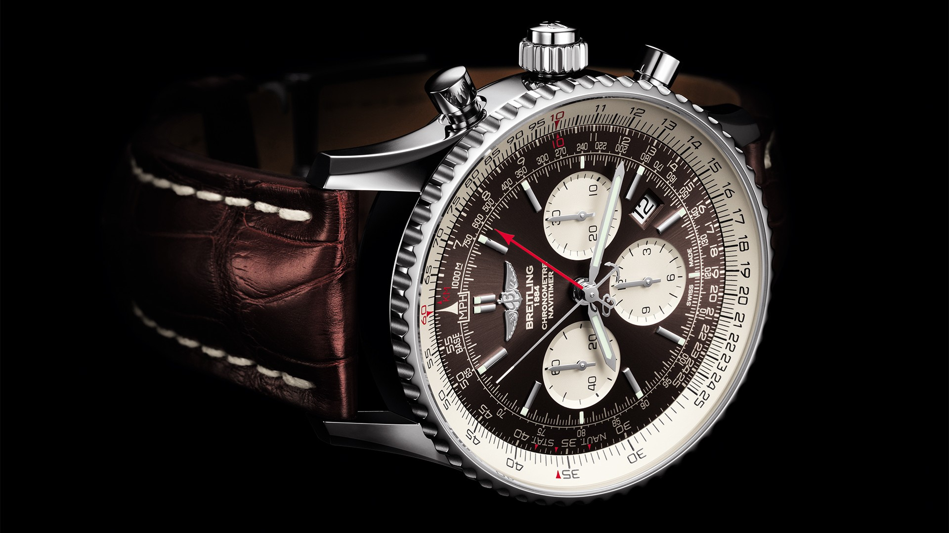 Breitling Navitimer Rattrapante split-second chronograph watch