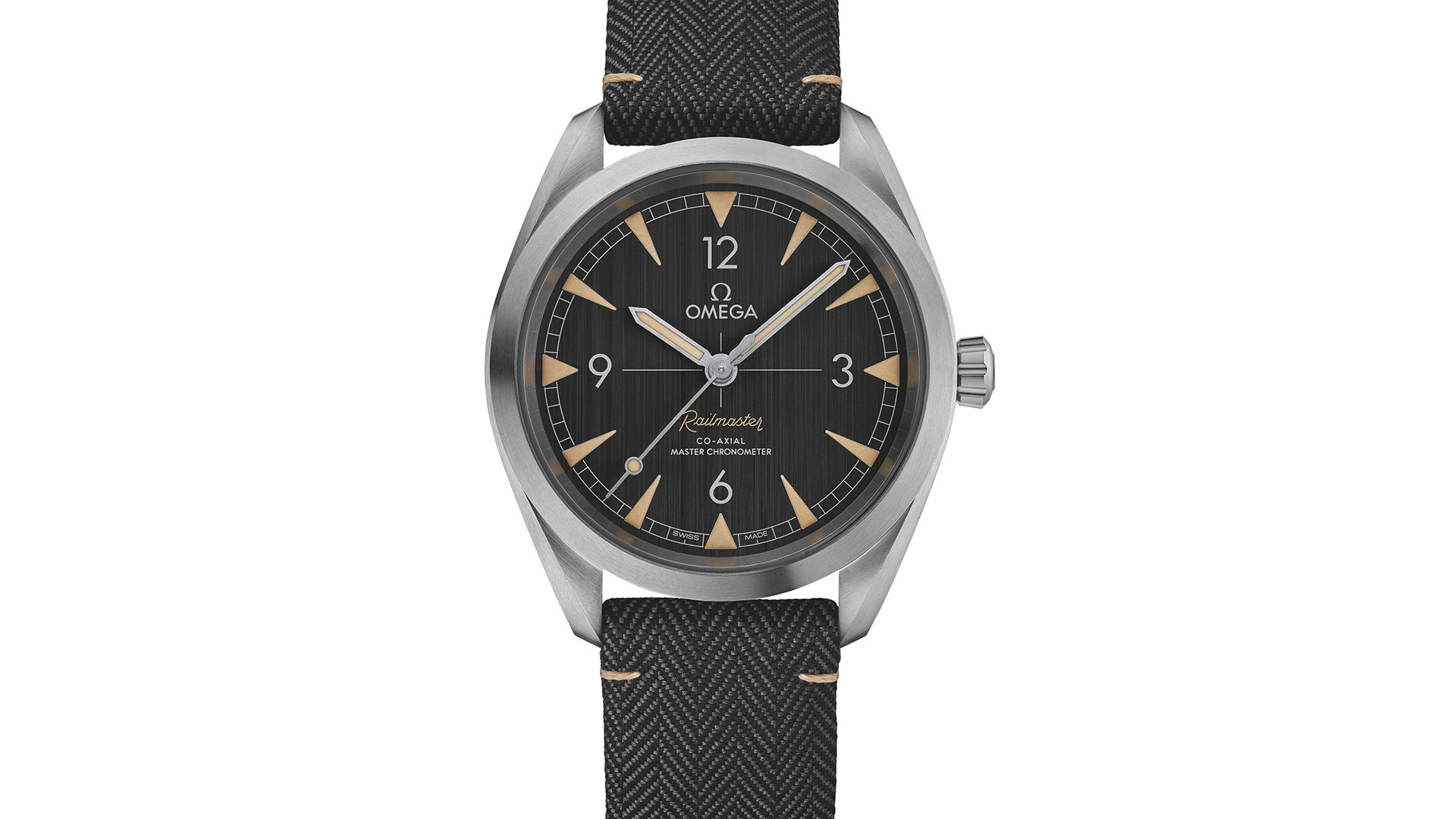 Omega Railmaster watch relaunch