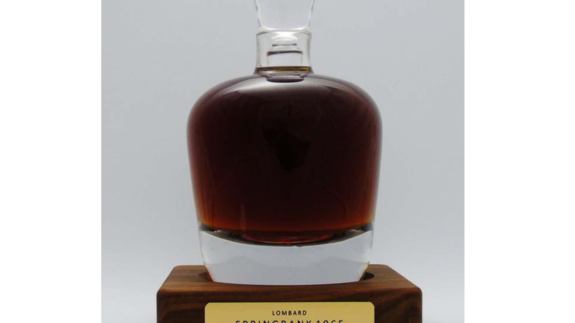 Springbank 1965 Lombard Bottling
