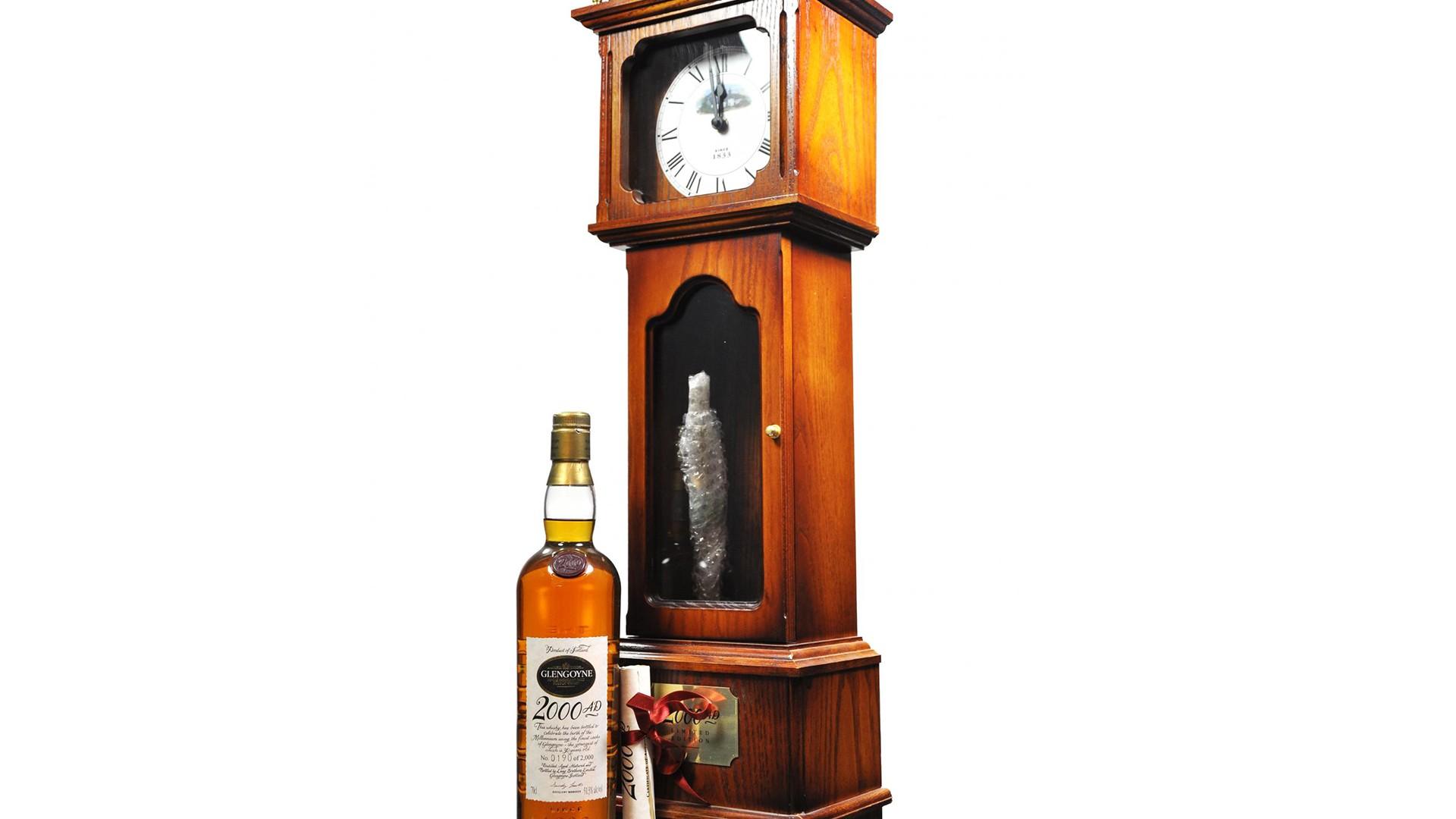 Glengoyne A.D. 2000 Millennium Clock