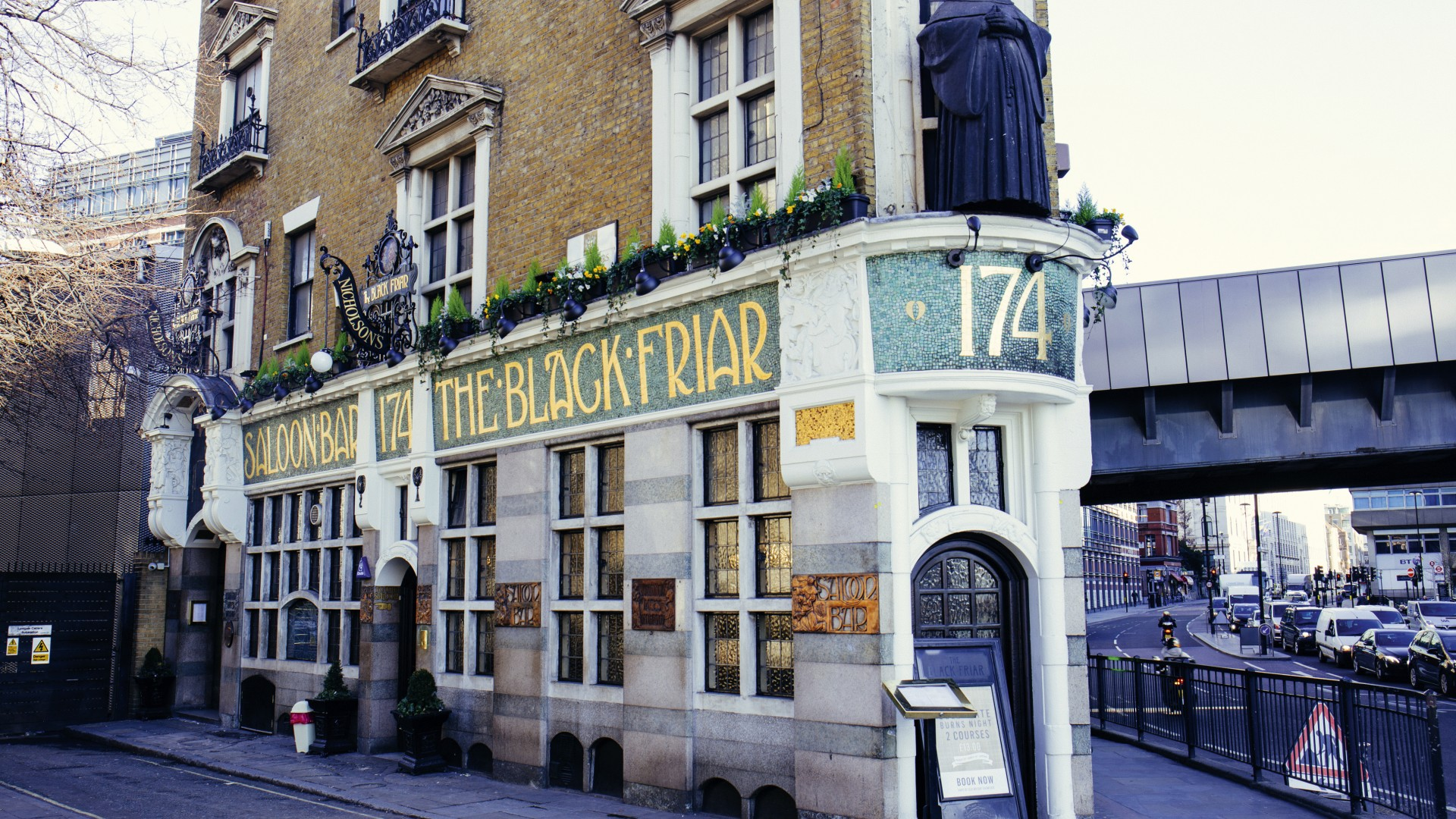 The Blackfriar pub, Square Mile Pub Awards 2017 Winner