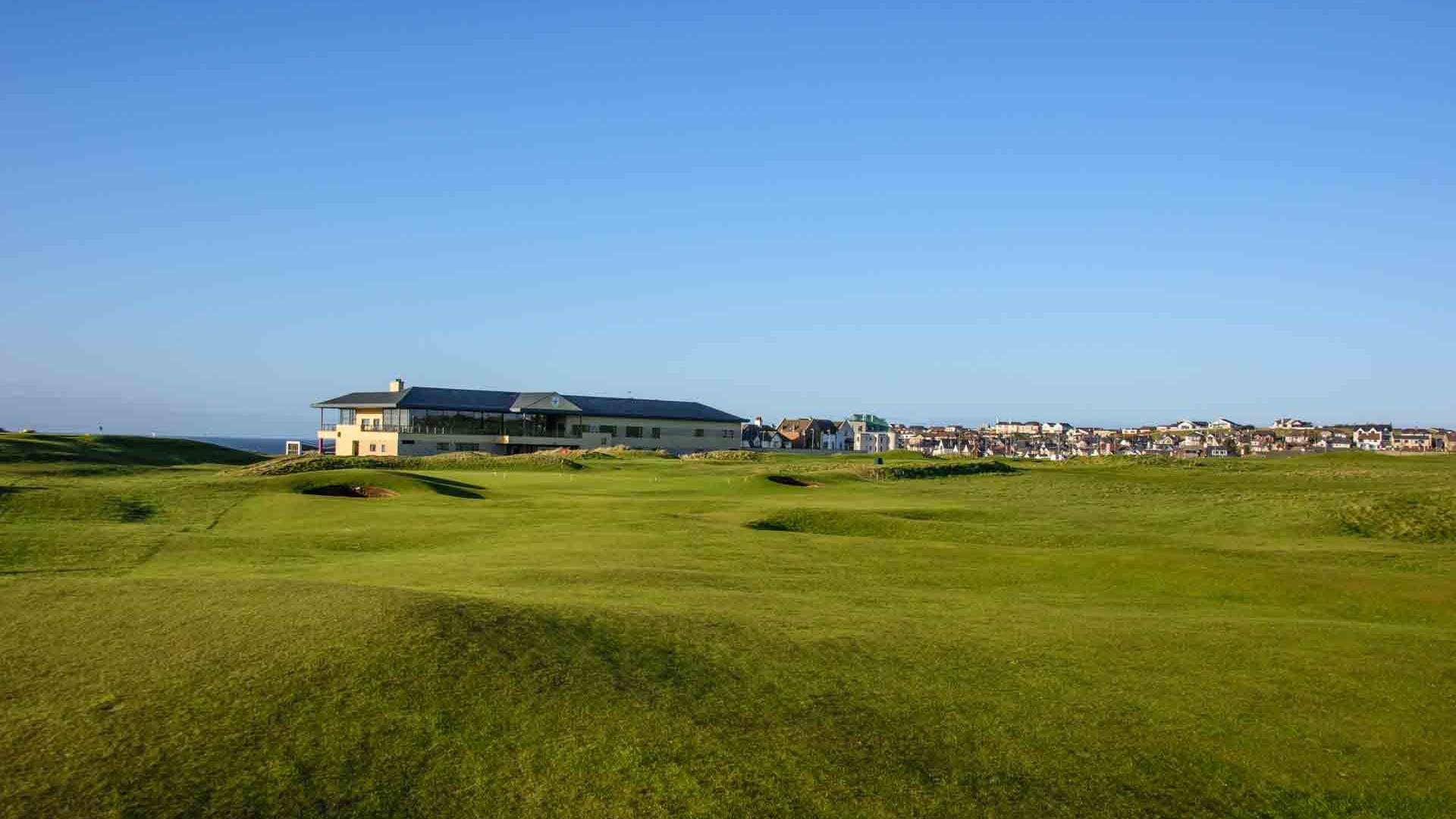 Portstewart Golf Club, 16th hole, Northern Ireland