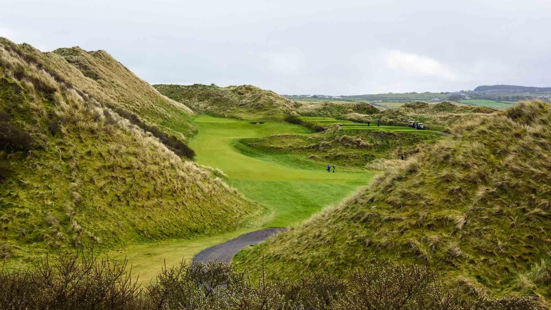 Portstewart Golf Club, 2nd hole, Northern Ireland