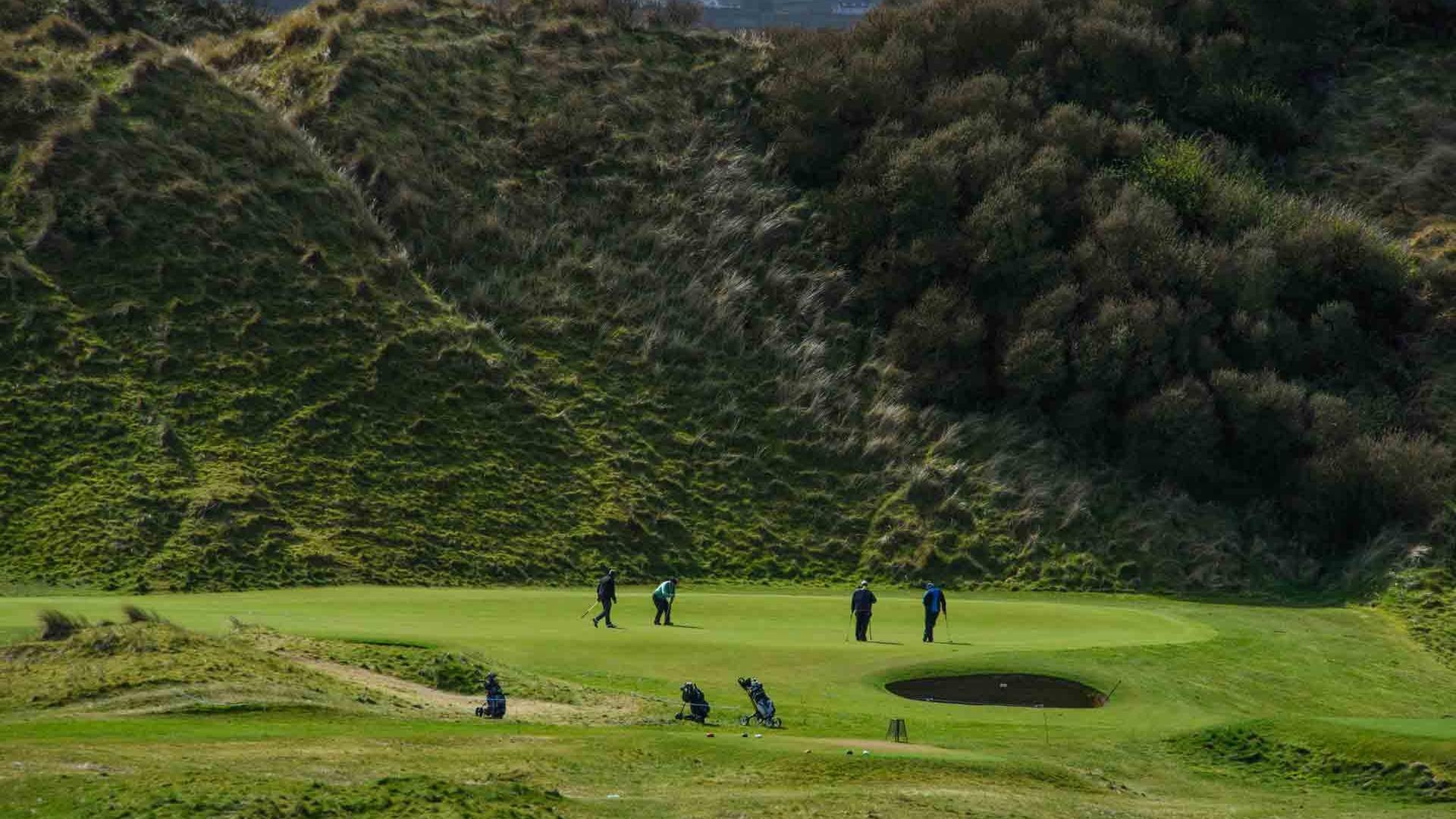 Portstewart Golf Club, 3rd hole, Northern Ireland