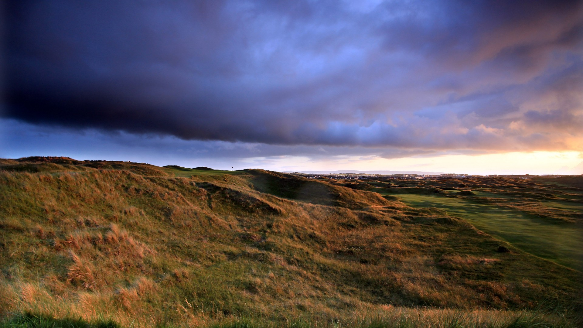 Royal Portrush Golf Club, 14th hole Calamity Corner, The Open 2019
