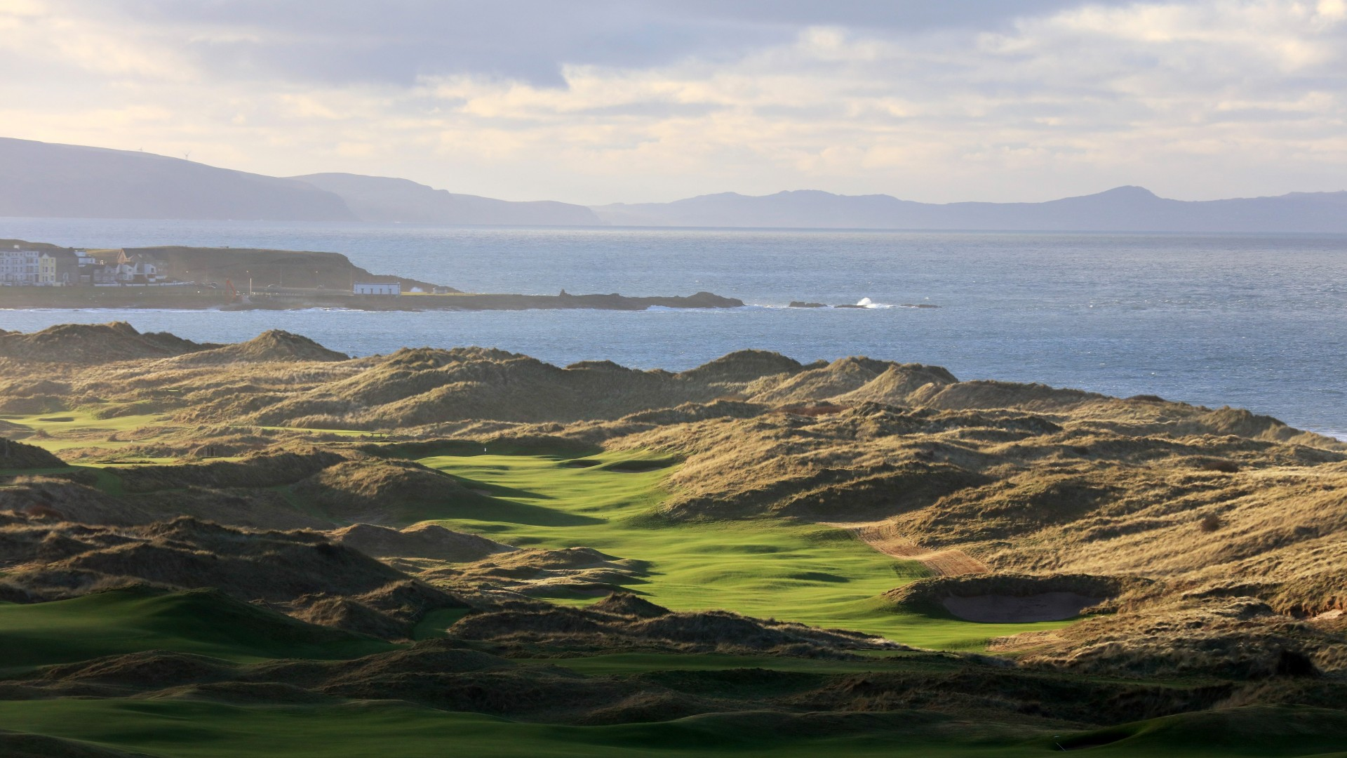 Royal Portrush Golf Club, new 7th hole, The Open 2019