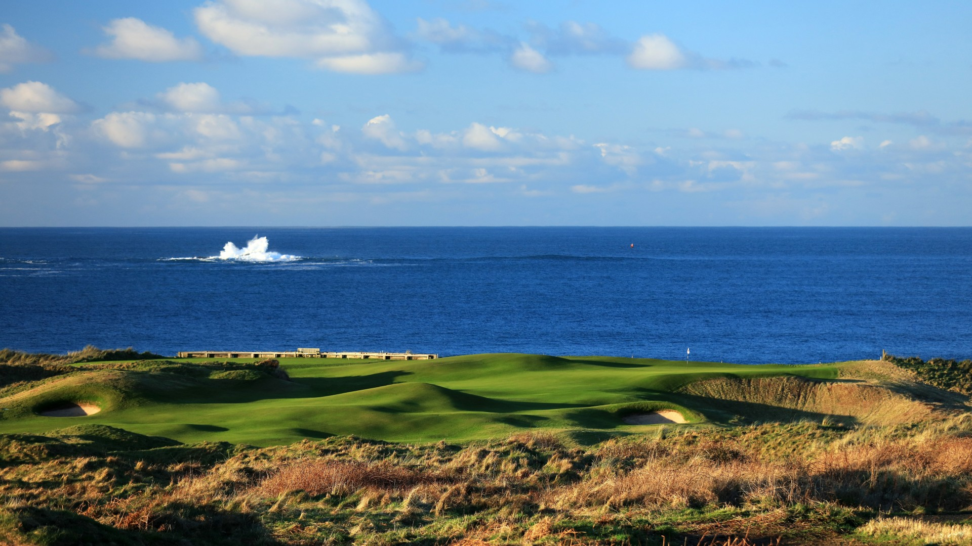 Royal Portrush Golf Club, 5th hole White Rocks, The Open 2019