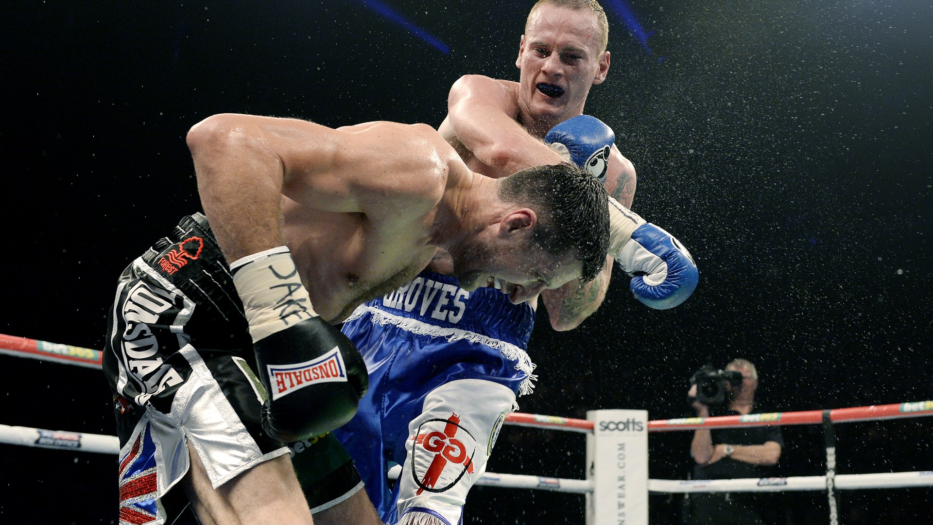 Carl Froch vs George Groves